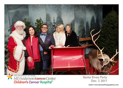 MD Anderson Santa Elves Party 2017