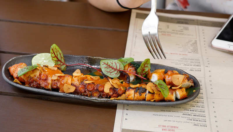 Grilled Octopus from video
