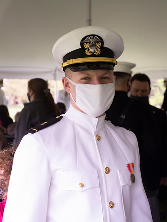 ISU 2021 Navy ROTC Commissioning