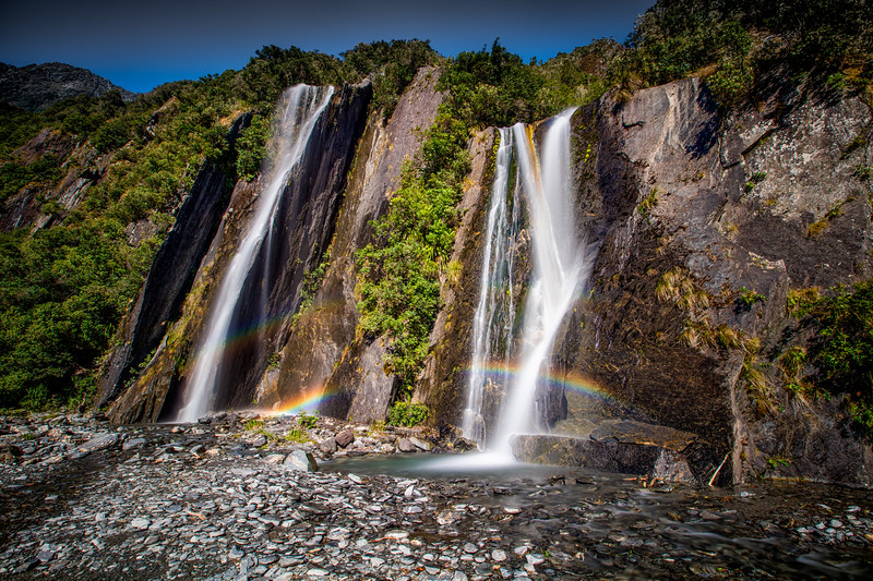 Rainbow Falls, Franz Josef