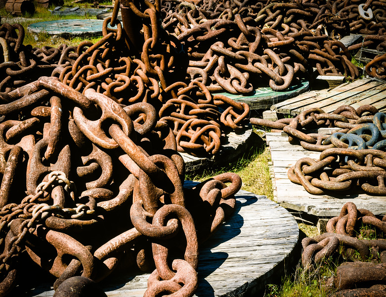 Chain, Rio Vista, California, 1995