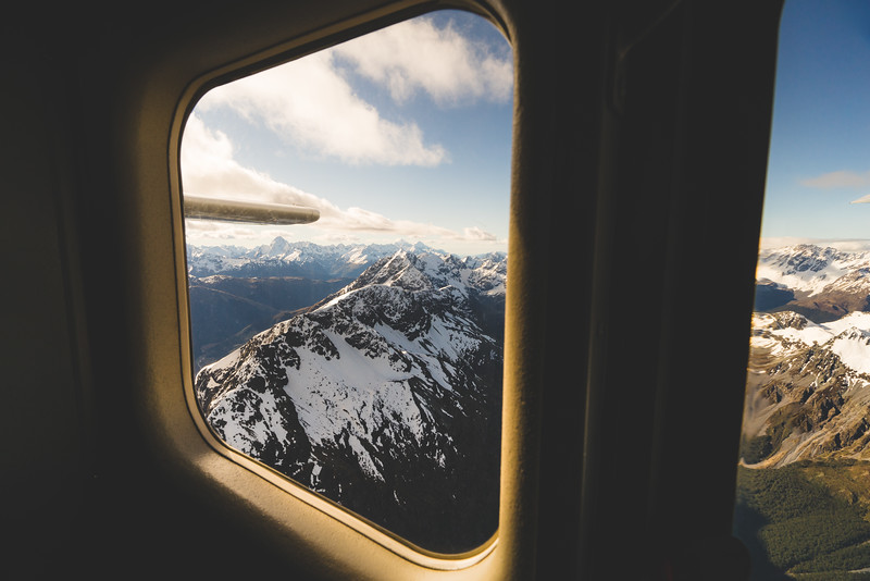 View from Above - Southern New Zealand
