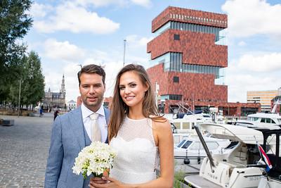 Burgerlijke Trouw 14 aug 2019 Felix Pakhuis (Antwerpen)