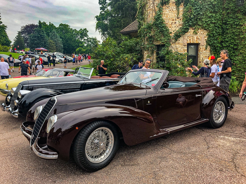 Alfa Romeo 8C 2900B Lungo Spider