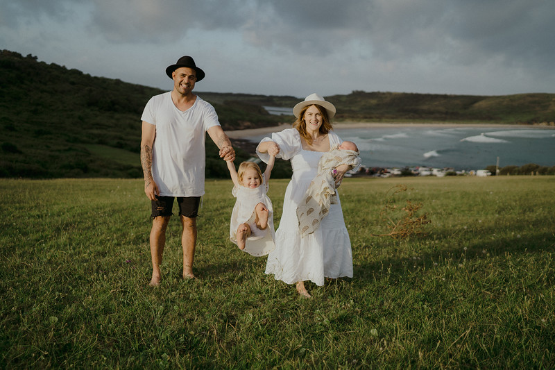Maddie, Danny, Pippa and Ziggy | Kiama, Australia