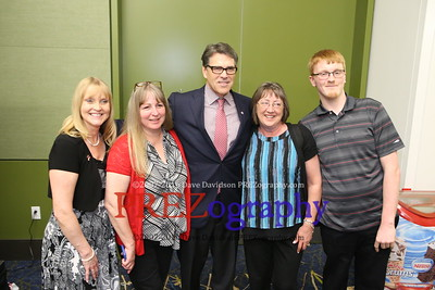 Rick Perry reception  5-16-15