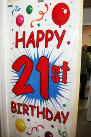 RACHAEL'S 21st BIRTHDAY PARTY - AUG 16, 2014