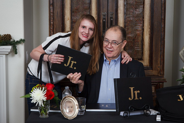 Jr.'s Book Signing Party