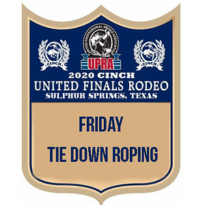 UPRA Finals Friday Tie Down Roping