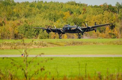 Avro Lancaster (Vera) 2014 Gatineau stopover