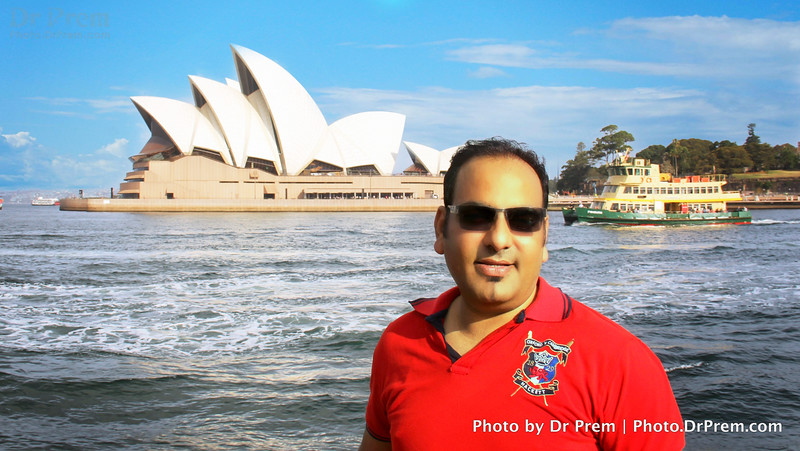 Sydney Opera House And Dr Prem!
