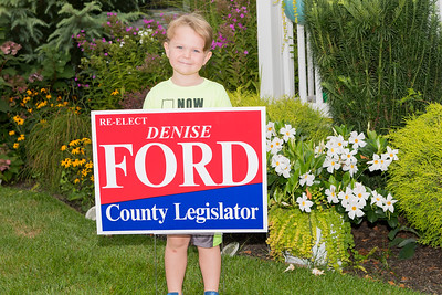 Jacob and Aggie Denise Ford Re-Elect Sign 2019