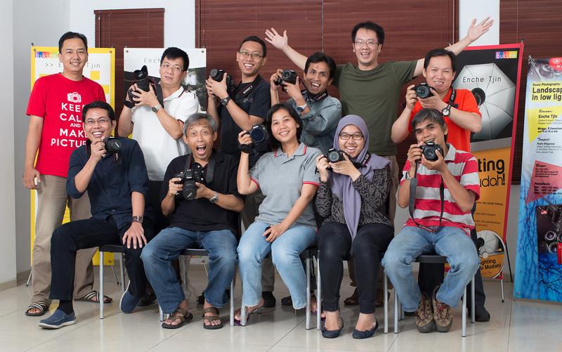 Kupas Tuntas kamera DSLR Canon tgl 9 November 2013 - Angkatan 29