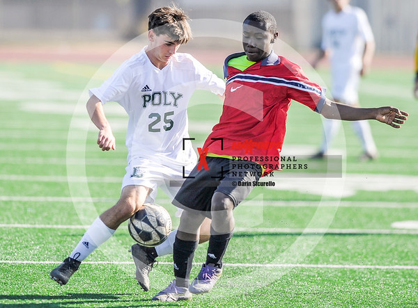 Soccer 2018 Long Beach Poly vs Morningside