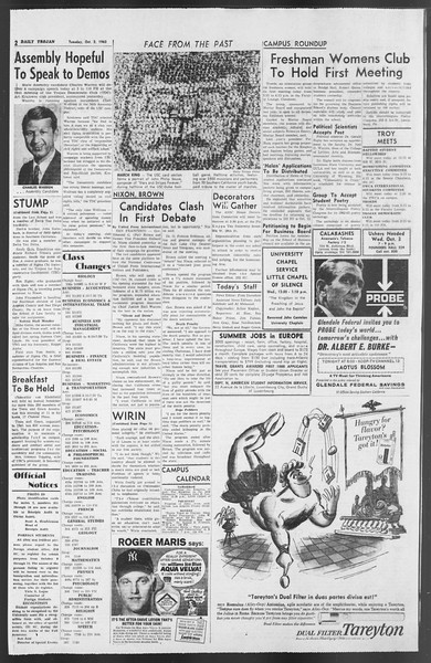 Daily Trojan, Vol. 54, No. 7, October 02, 1962