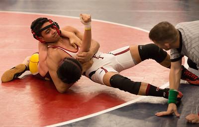 2/24/16: Wrestling vs Marianapolis Prep