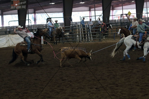 County Roping First Round
