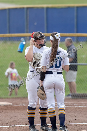 2019 06 01 Clarkston Varsity Softball vs Kettering
