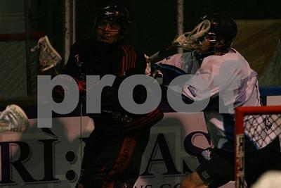 8/30/2013 - Calgary Mountaineers (AB) vs. Onondaga Redhawks (CanAm) - Kanhawake Sports Complex, Kanhawake, QC (Mohawk Territory)