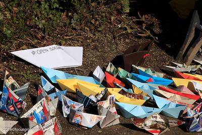 groningen 2016-oranje-en plantsoenwijk, safe passage vluchtelingen
