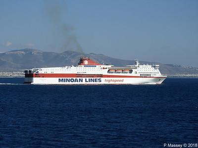 MYKONOS PALACE Departing Piraeus 17 Sep 2018