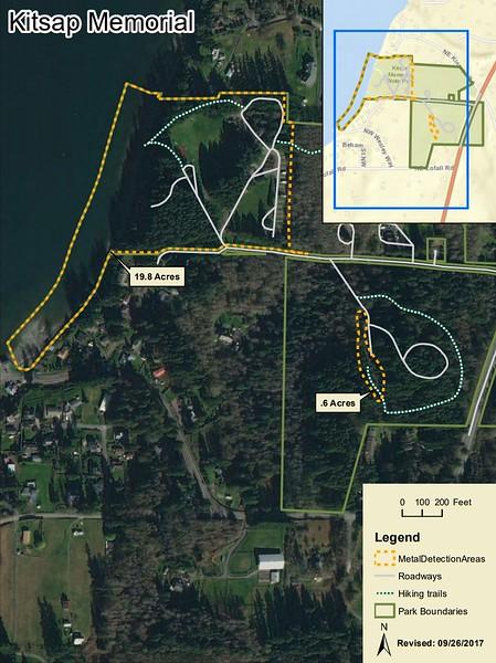 Kitsap Memorial State Park (Metal Detection Areas)