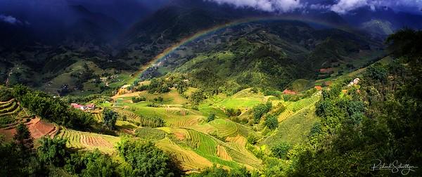 Sa Pa, Vietnam Landscape and City 2019
