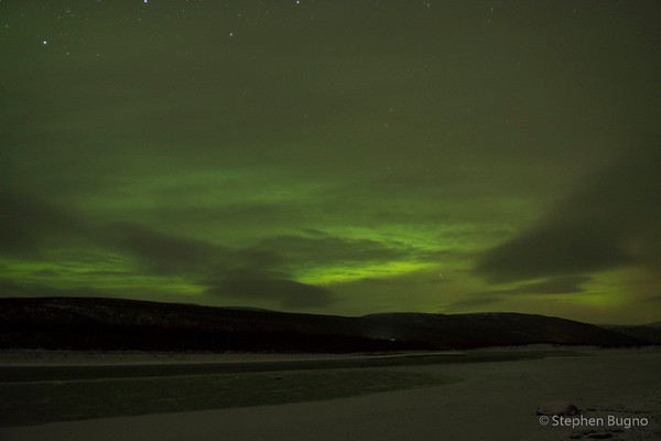 Utsjoki Night Sky