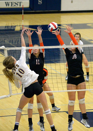 2014 Sectionals Platte County Volleyball