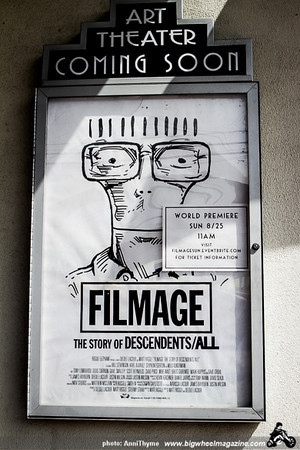 Filmage - at Art Theater - Long Beach, CA - August 25, 2013