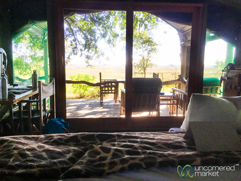 Camp Xakanaxa, Our Room - Moremi Game Reserve, Botswana