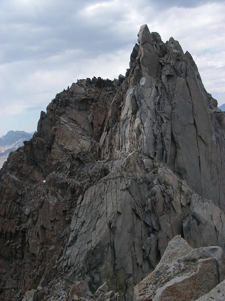 Final push towards Starlight Peak