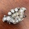 1.52ctw Victorian Diamond Crown Motif Clasp 0