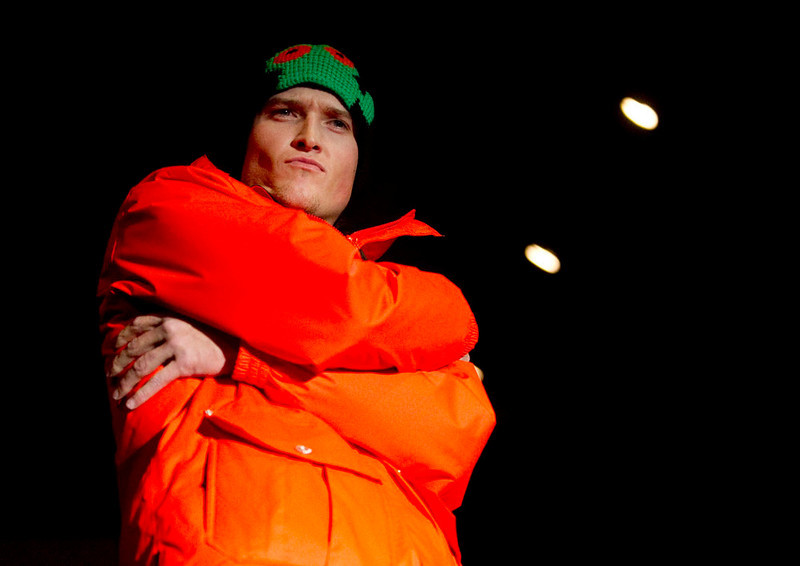 . Trespass\' tangerine nacho jacket, as the SIA Snow Show hosted its 2013 Snow Fashion & Trends Show at the Colorado Convention Center  in downtown Denver  on Wednesday, January 30, 2013.  (Photo By Cyrus McCrimmon / The Denver Post)