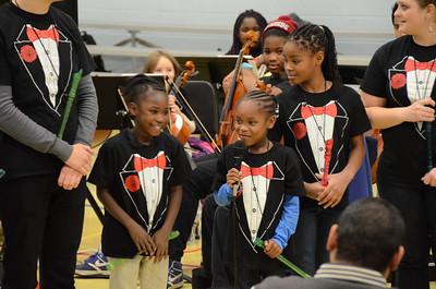ROCmusic ensembles performed at the Gantt Community Center. 11/14/2014
