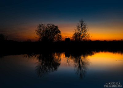Sunset Reflections - Photography by Wayne Heim