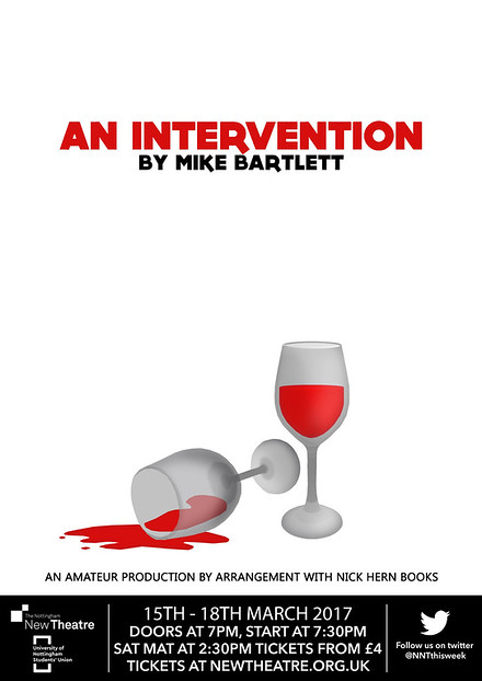An Intervention poster