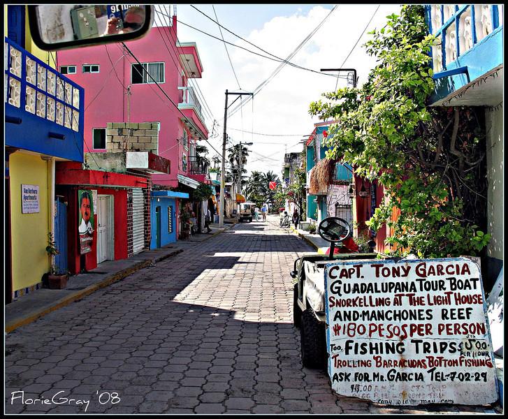 Captain Tony's   Streetside, Isla Mujeres, Mexico