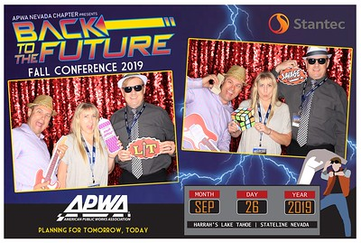 APWA Nevada Chapter Presents Back to The Future Fall Conference 2019