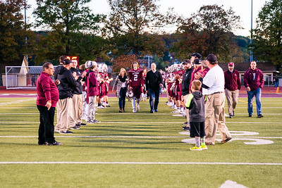 AAHS Football Senior Night 10-27-17