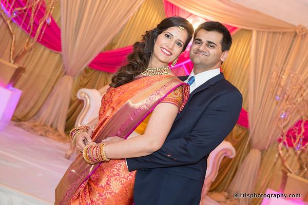 Nikhil & Divya's  Reception.