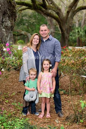 The Kinker family  |  Eden Gardens State Park