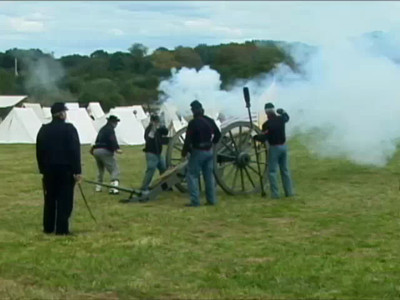 monroe civil war renact  part 1