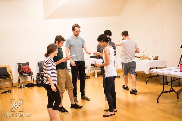 Artist's Retreat 2015 - Rehearsal