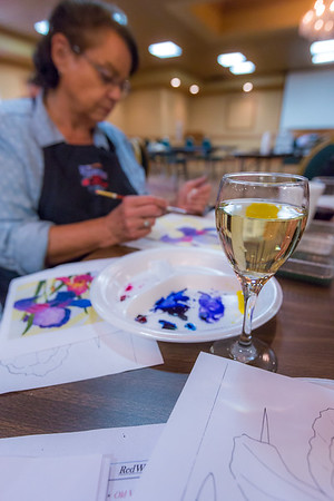 Watercolors and Wine