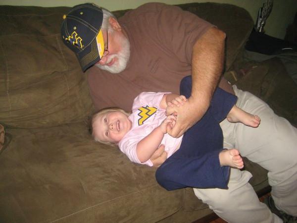 Granddad and Olivia