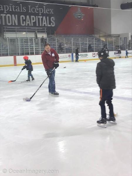 20181217 Arlington, VA - Hockey for Dylan