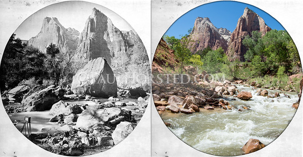 Our National Parks Yesterday & Today