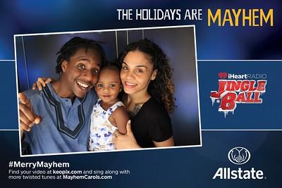 12.18.16 - Allstate - Miami iHeartRadio Jingle Ball