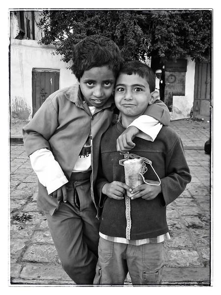 in the old city, Sana'a, Yemen
